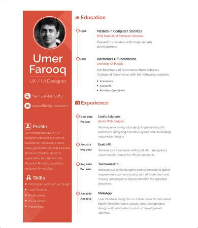 Engineering Resume Template - Document Formats